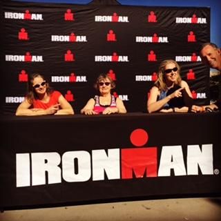 "Ironman Arizona - ""Pro"" Panel - My friend, Mom & wife"